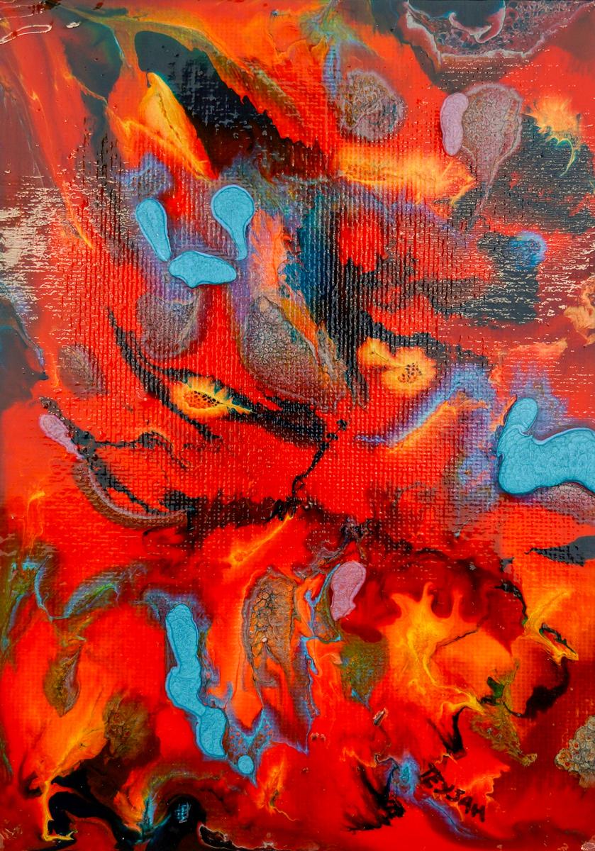 Seeds Oil Painting by teyjah
